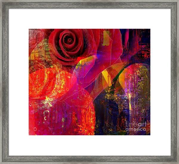 Song Of Solomon - Rose Of Sharon Framed Print by Fania Simon