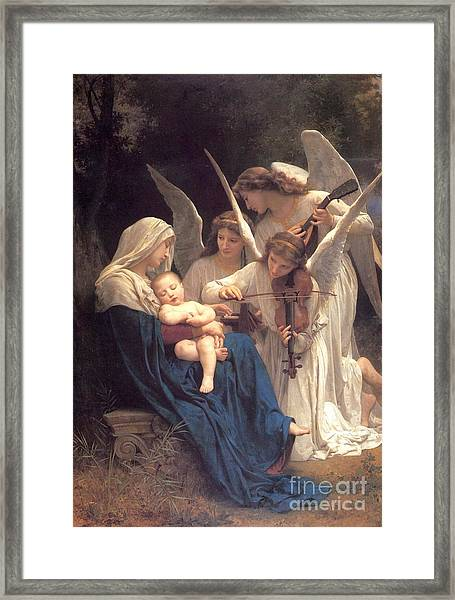Song Of The Angels Framed Print