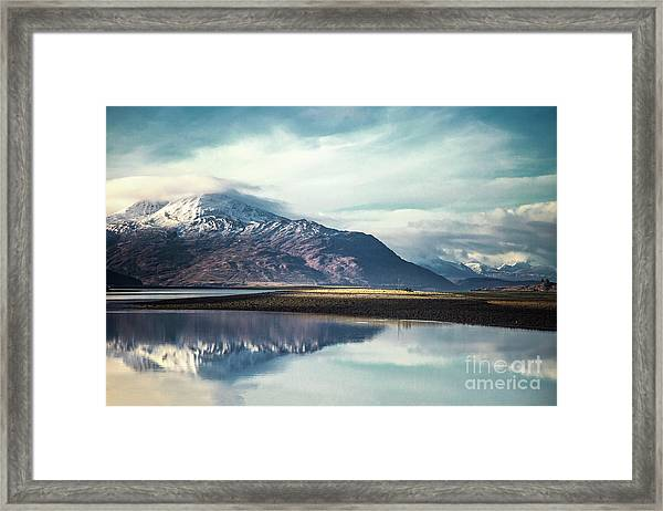 Song Of The Mountain Framed Print