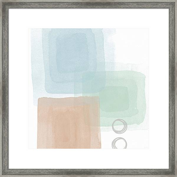 Soothing Peace 2 - Art By Linda Woods Framed Print