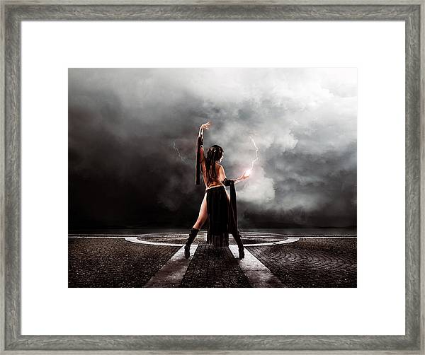 Sorceress Framed Print
