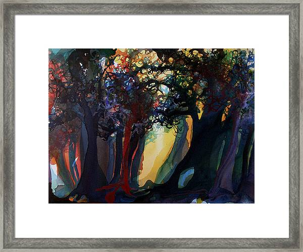 Sorting With Reality Framed Print