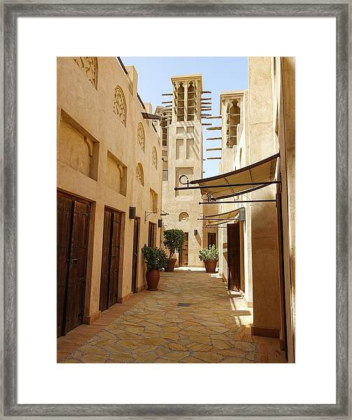 Framed Print featuring the photograph Souk by Zosia Korcz