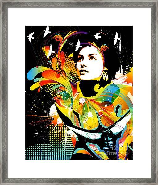 Soul Explosion II Framed Print