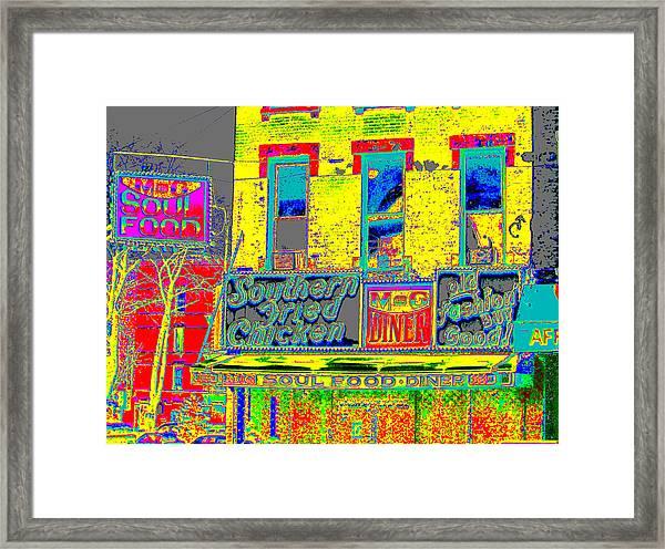 Soul Food Framed Print