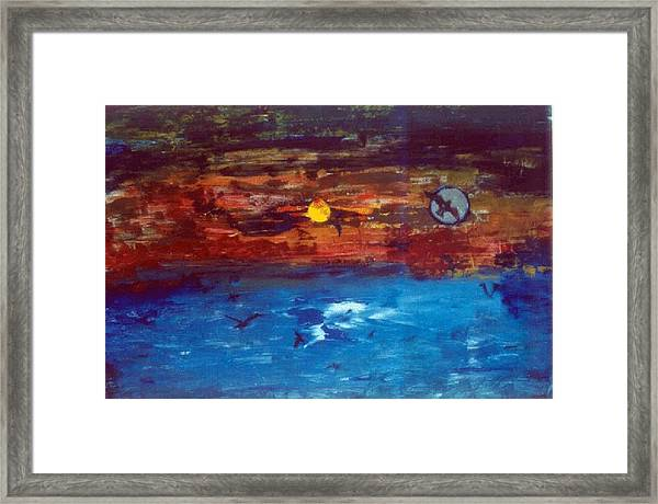 Soul Journey.. Framed Print by Rooma Mehra