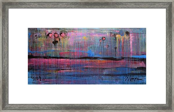 Framed Print featuring the painting Soul by Laurie Maves ART