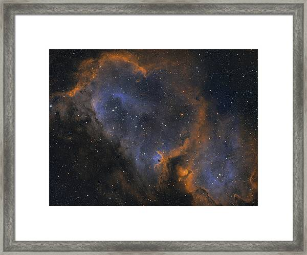 Soul Nebula Framed Print