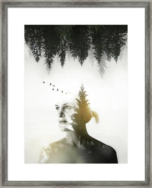 Soul Of Nature Framed Print