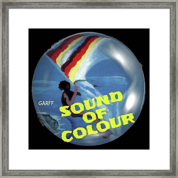 Sound Of Colour Framed Print