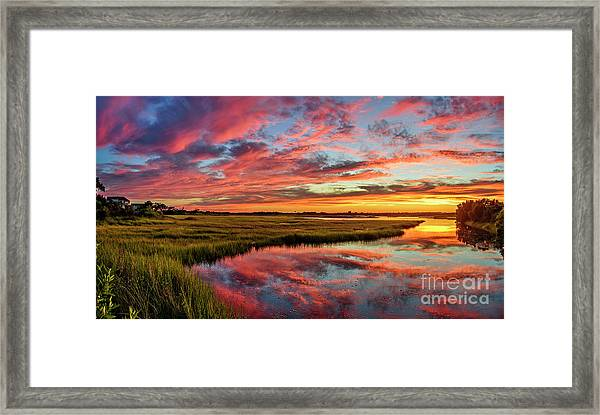 Framed Print featuring the photograph Sound Refections by DJA Images