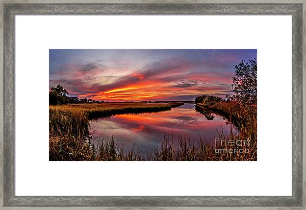 Framed Print featuring the photograph Sound Reflections by DJA Images