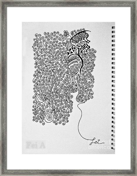 Soundless Whisper Framed Print