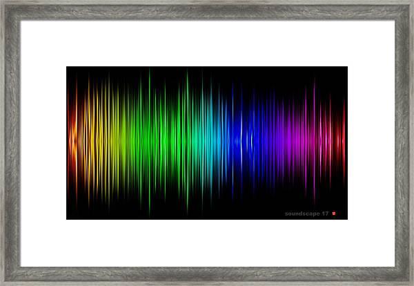 Soundscape 17 Framed Print