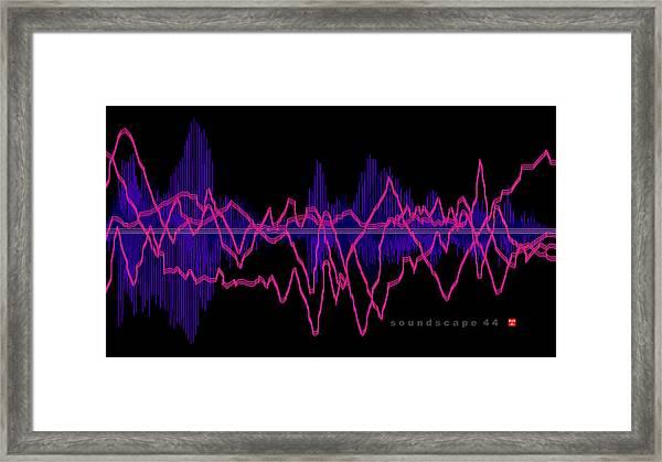 Soundscape 44 Framed Print