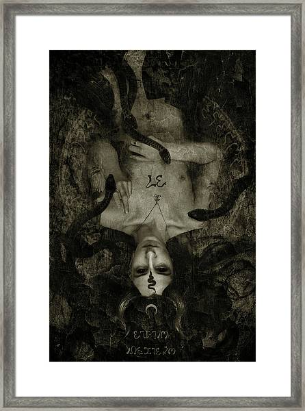 Source Framed Print by Cambion Art