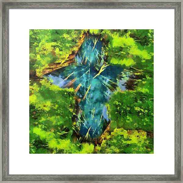 Source Of Water Framed Print