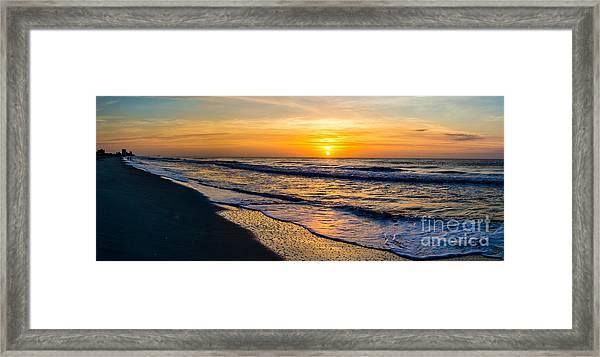 South Carolina Sunrise Framed Print