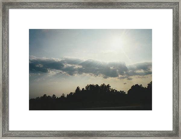 South Carolina Sunrise Framed Print by Gene Linder