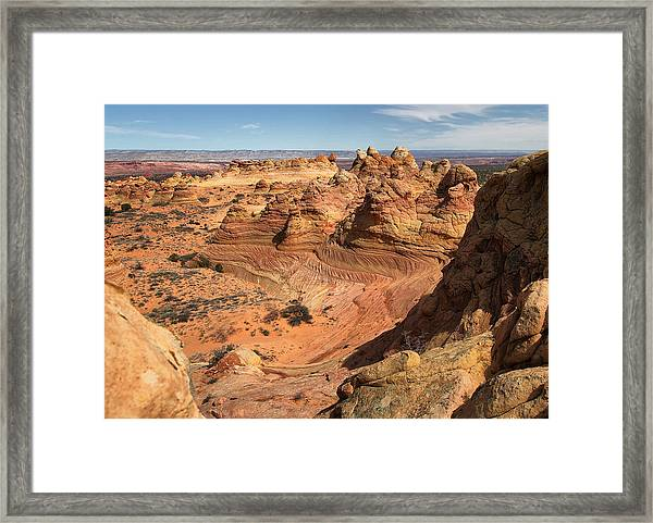 South Coyote Buttes Framed Print
