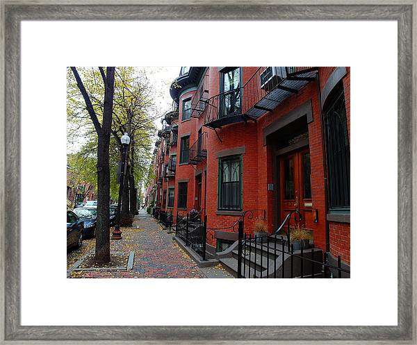 South End - Boston Framed Print