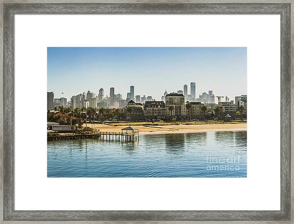 South Melbourne Framed Print