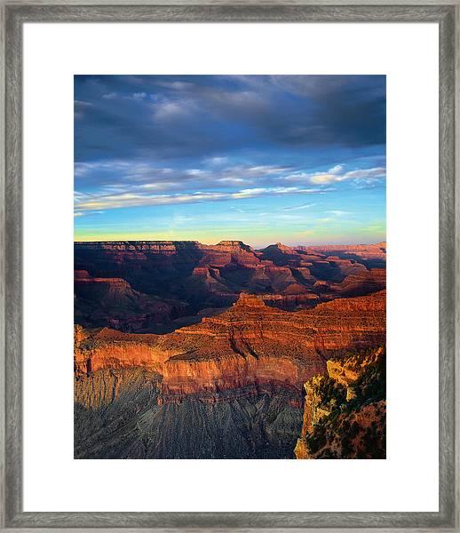 South Rim Grand Canyon Framed Print
