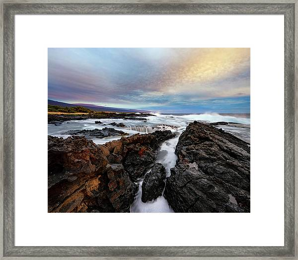 South Swell Framed Print