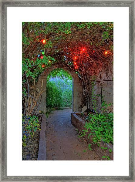 Southeast Arizona Garden Framed Print