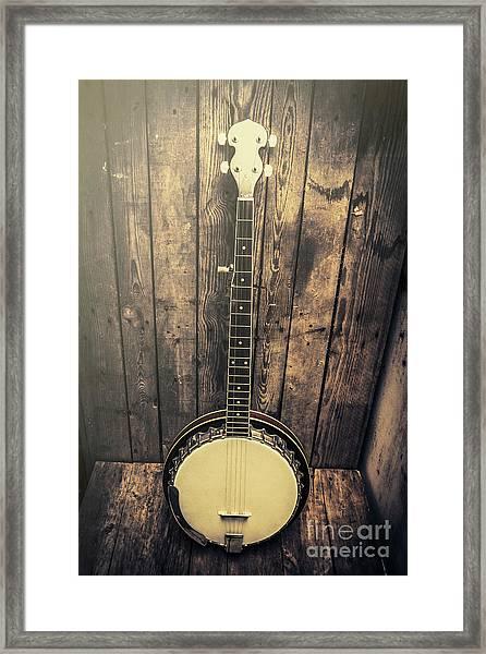 Southern Bluegrass Music Framed Print
