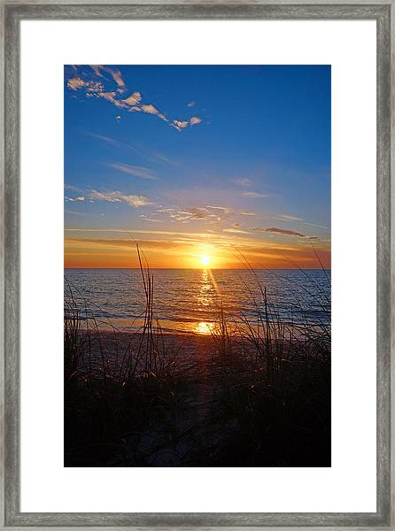 Southwest Florida Sunset Framed Print
