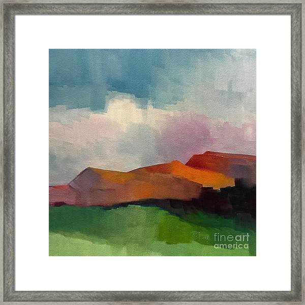 Southwest Light Framed Print