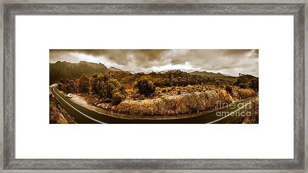 Southwest National Park Tasmania Framed Print