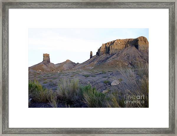 Southwestern Sky Framed Print