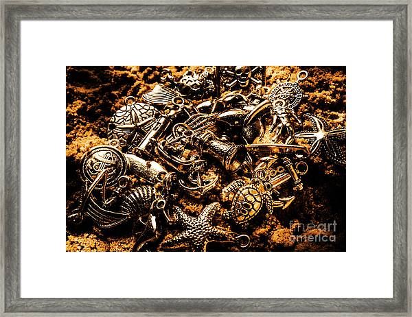 Souvenirs From Sandy Sea Tours Framed Print