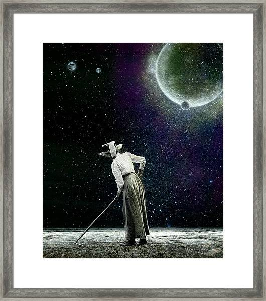 Sow What Framed Print