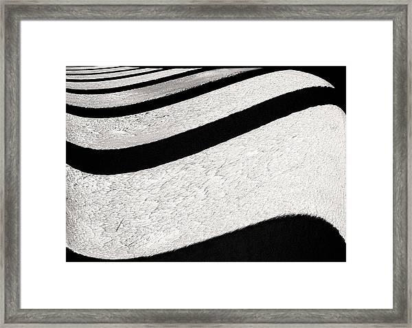 Space Geometry #16 Framed Print