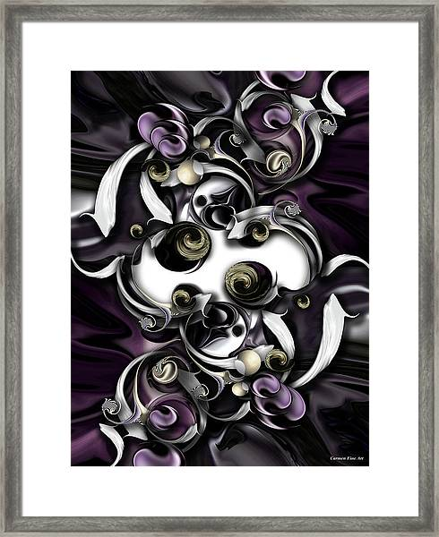 Space Or Expression Framed Print
