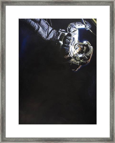 Spacewalk 1  Framed Print