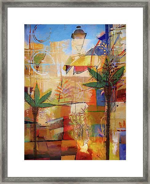 Spain Impression Framed Print