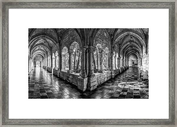 Spanish Monastery Framed Print