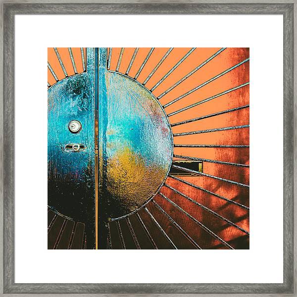 California Sahara Framed Print