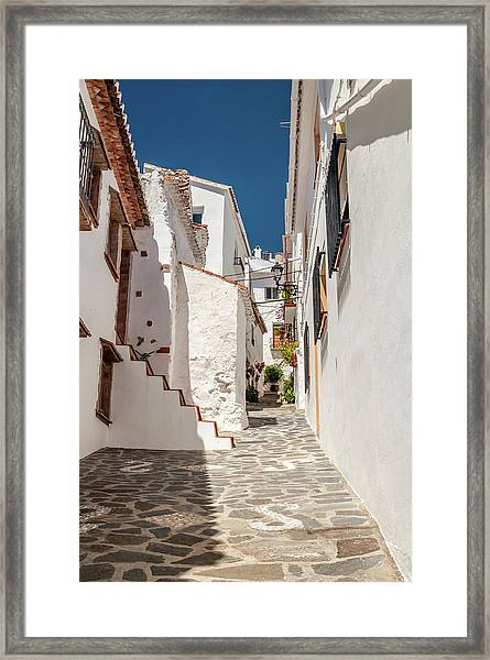 Spanish Street 1 Framed Print