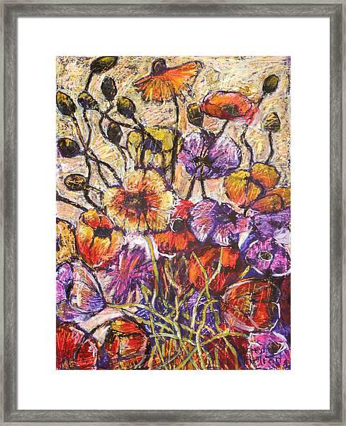 Sparkling Dew Framed Print