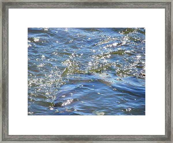 Sparkling Waters Framed Print
