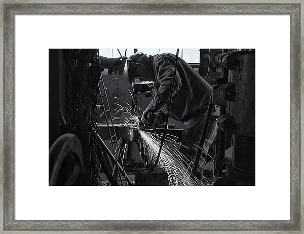 Sparks Framed Print