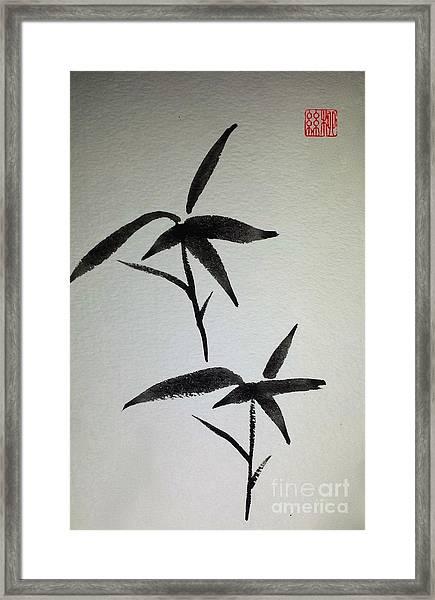 Sparrows Framed Print
