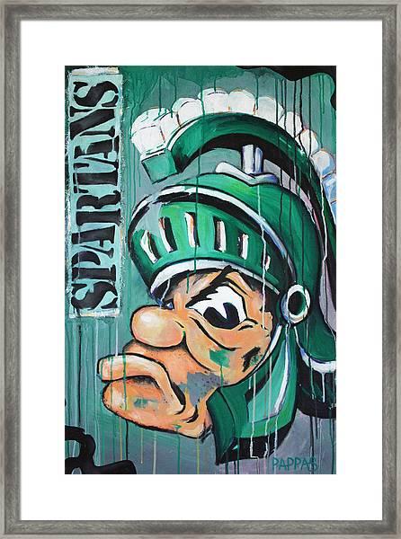 Spartans Framed Print