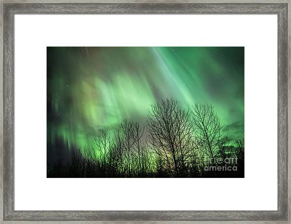 Spectacular Lights Framed Print