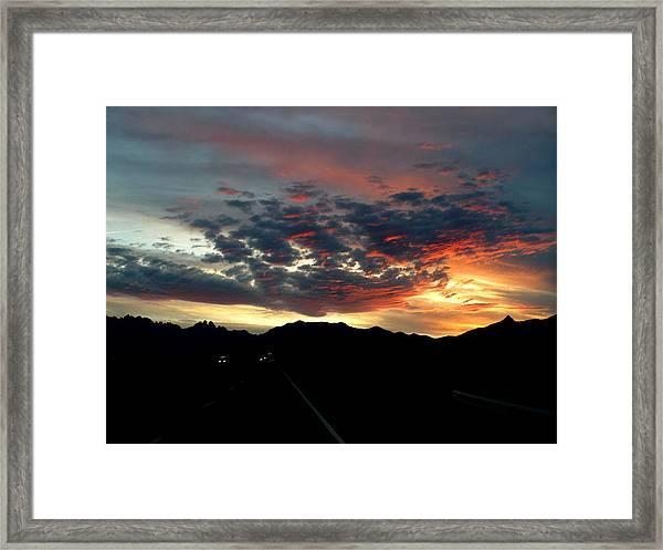 Spectacular Sky Framed Print